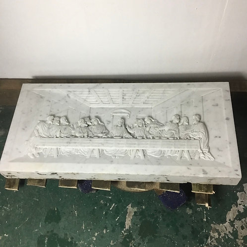 Carrara Marble Wall Frieze The Last Supper