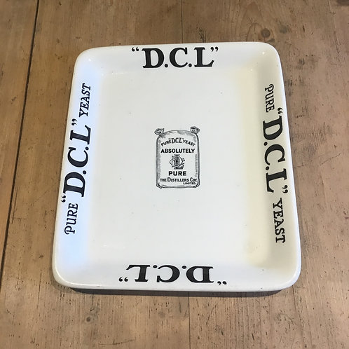 Edwardian Grocers Shop Ironstone Advertising Plate