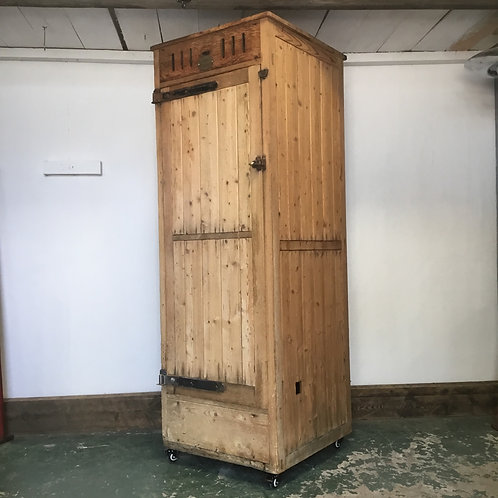 Early 20th C. Bakers Proving Oven Cupboard
