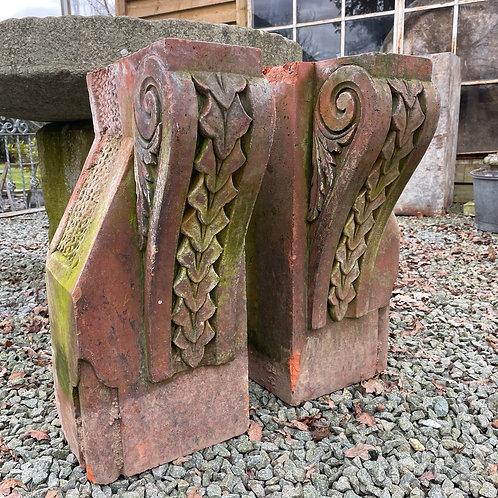 Victorian Clay Corbels