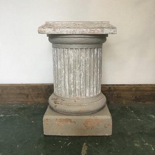Victorian GARNKIRK Fire Clay Terracotta Pedestal