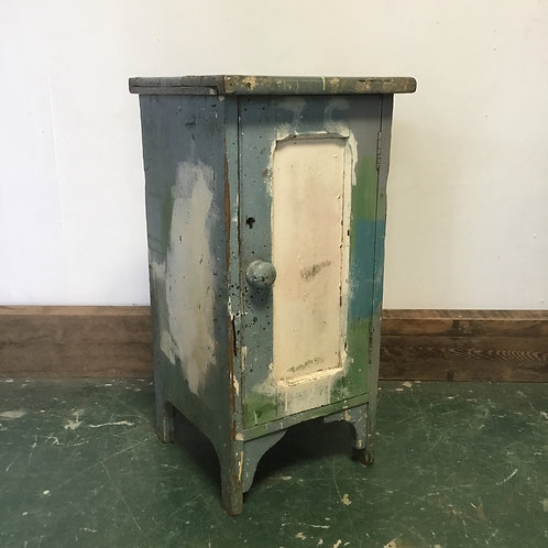 Victorian Pine Painted Pot Cupboard
