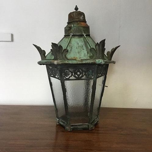 Early Victorian Copper Lantern