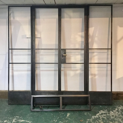 Refurbished 1950's Crittall Doors and Side Panels