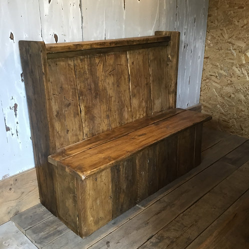 Country Bench, Pine Pew, Kitchen Bench