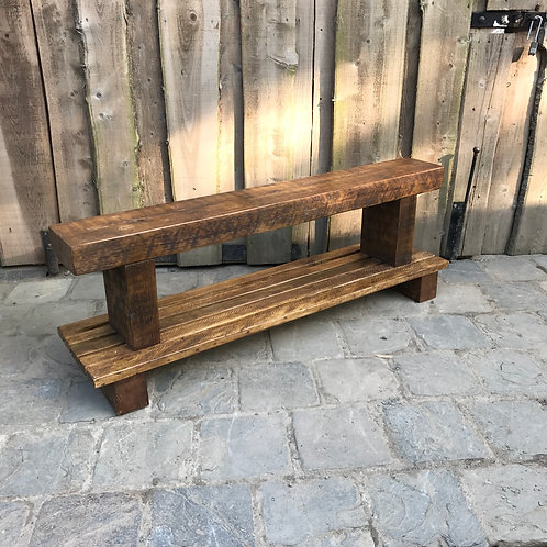 Country Shoe Bench side view
