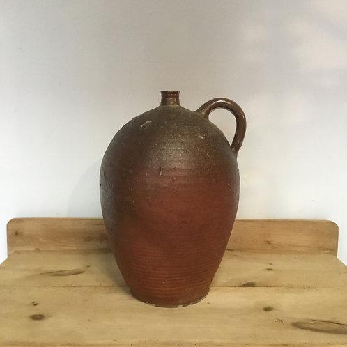 Victorian Stoneware Flagon Pitcher Confit Pot
