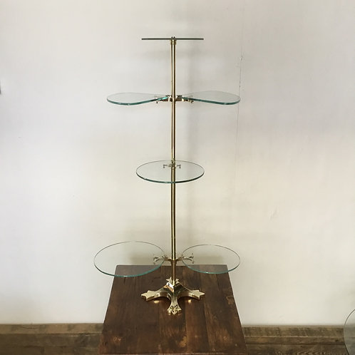 Victorian Brass Shop Counter Display Stand