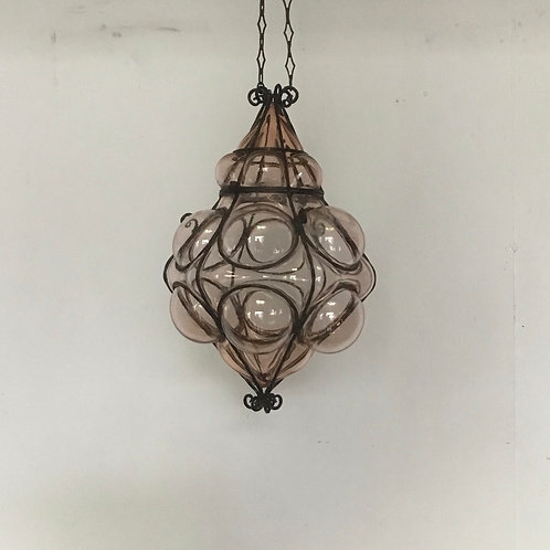 1960's Murano Glass Hanging Ceiling Pendant