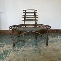 Blacksmith made Tree Seat