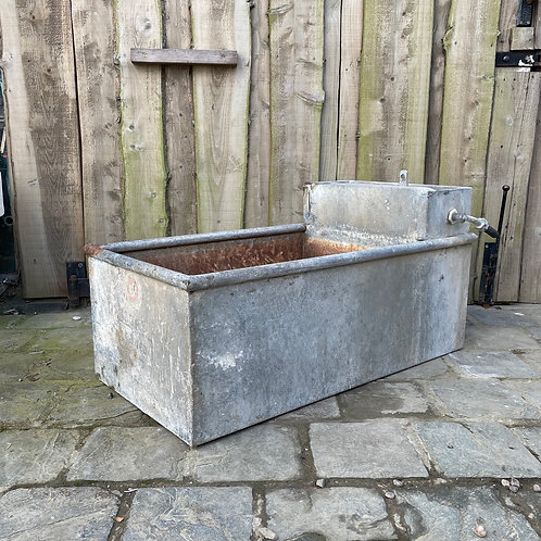 Galvanised Trough Garden Planter