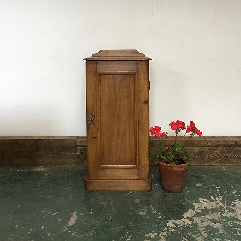 Edwardian Pine Pot Cupboard Bedside Table