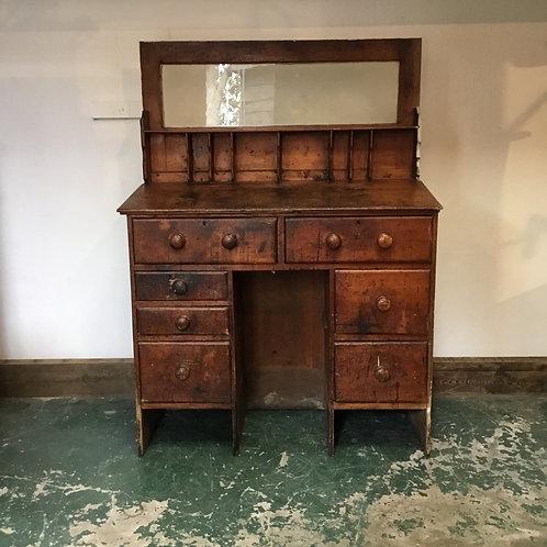 Victorian Pine Clerks Work Desk