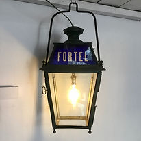 Early 20th C. French Railway Lantern from the Fortel Railway Station.