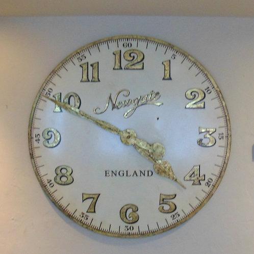 Large Decorative Metal Clock Face