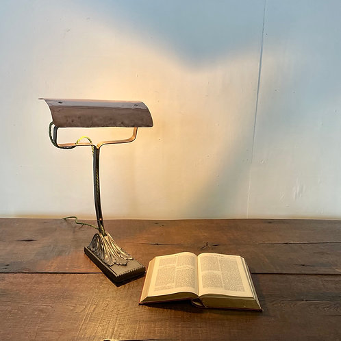 Early 20th C . French desk Lamp