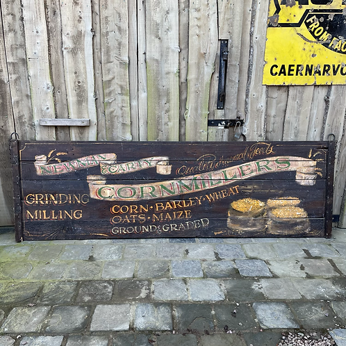 Decorative Wooden Painted Double Sided Advertising Sign