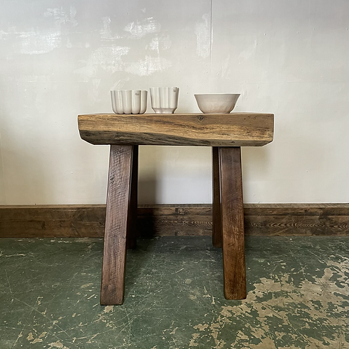 Country Style Oak Prep Table