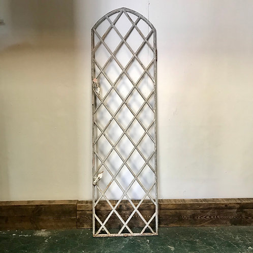 Victorian Cast Iron Window Frame