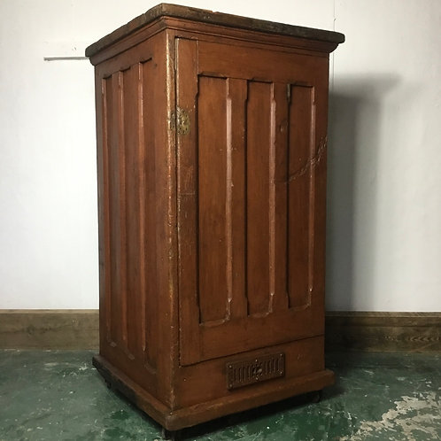 Victorian Pitch Pine Bakers Proving Oven, Kitchen Cupboard