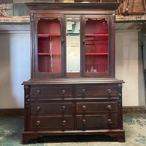 19th Century Scumbled Oak Dresser