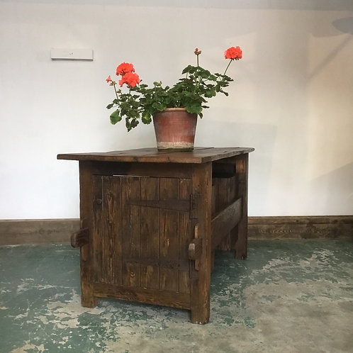 1920's Work Bench Table Kitchen Island