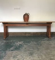 1930's Oak Kitchen Dining Table