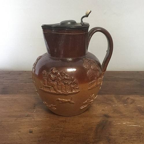 Victorian Glazed Stoneware Jug