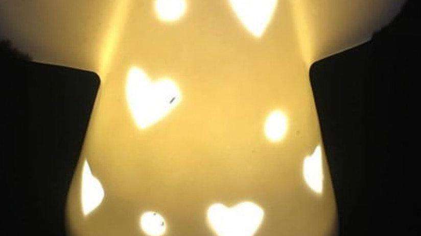 LED Light Up Ceramic Angel