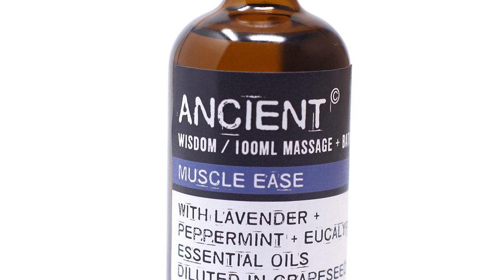 Muscle Ease Massage + Bath Oil
