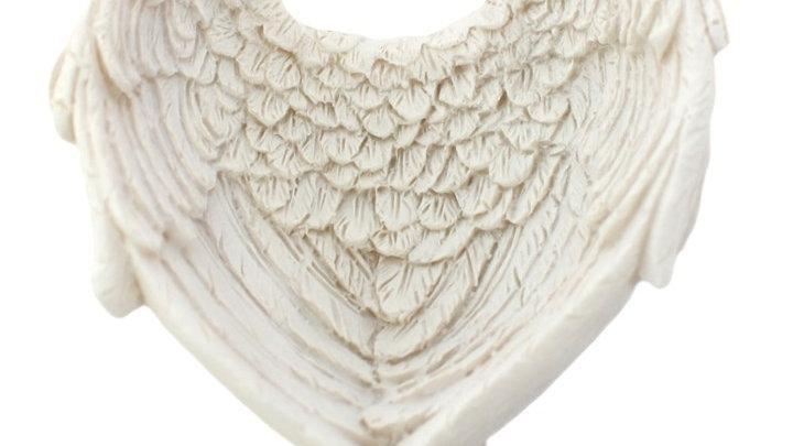 Small Angel Wing Trinket Dish