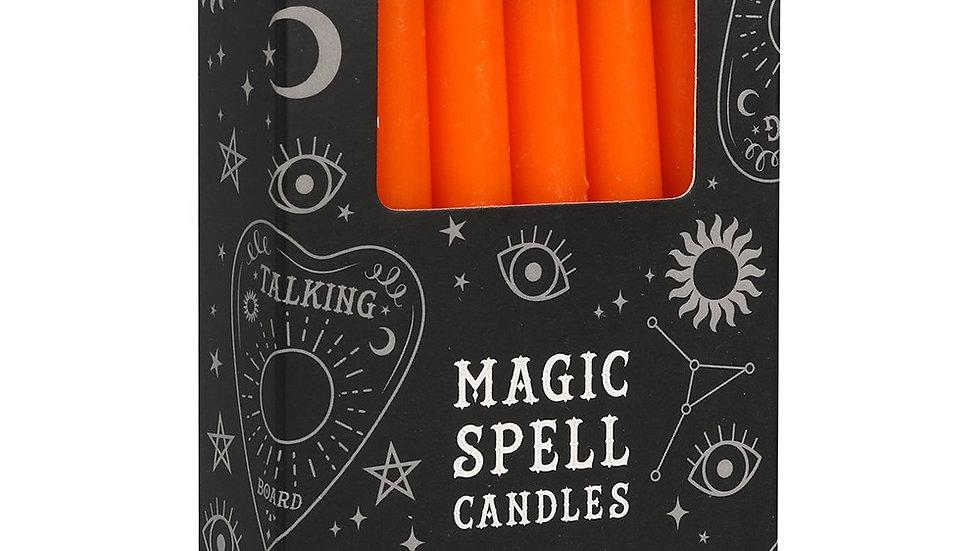 Spell Candles Orange Confidence