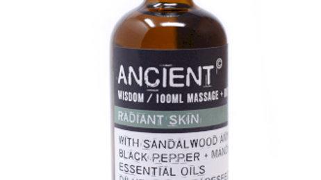 Radiant Skin Massage Oil + Bath Oil