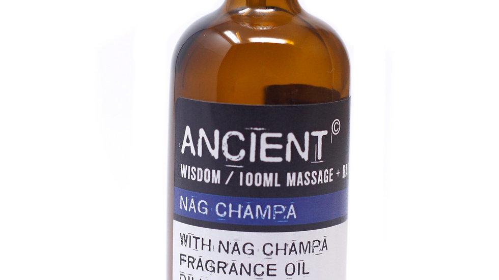 Nag Champa Massage Oil + Bath Oil