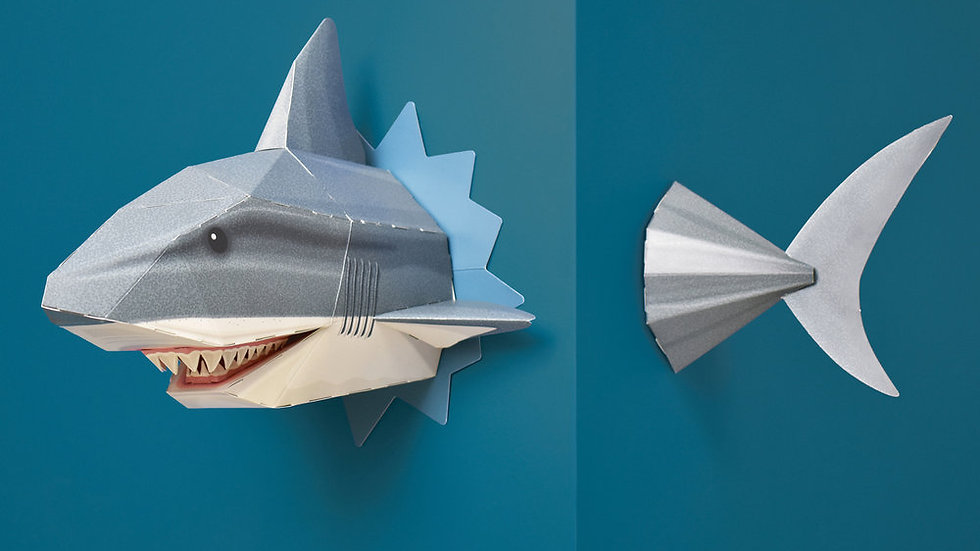 Create Your Own Snappy Shark Clockwork Soldier