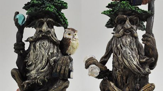 Tree Ent Pair - Books & Owl