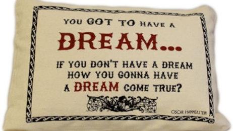Canvas Cotton DREAMS Cushions