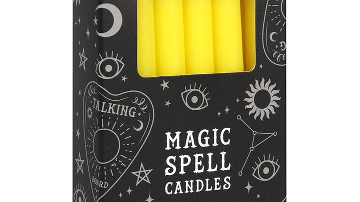 Spell Candles Yellow Success