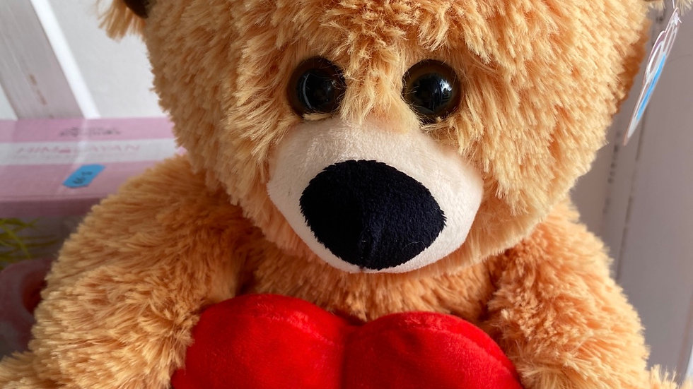 Patch I Love You Bear