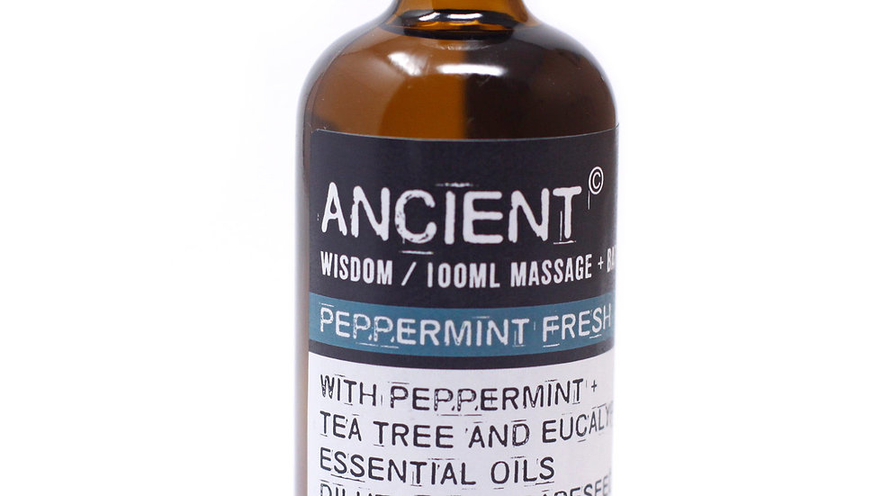 Peppermint Fresh Massage Oil + Bath Oil