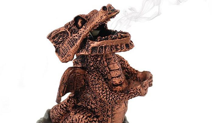 Bronze Dragon Incense Burner