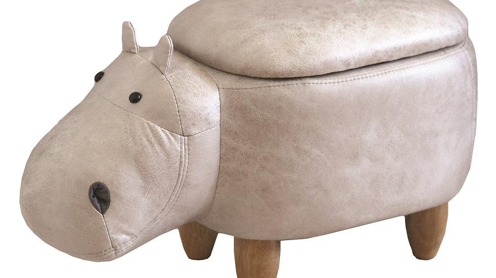 Hippo Footstool
