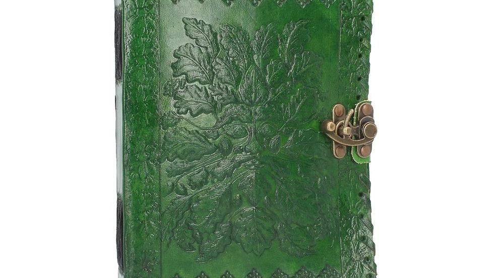 Green Man LeatherJournal 25 x 18cm