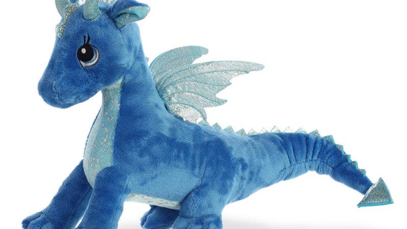 Indigo Blue Dragon