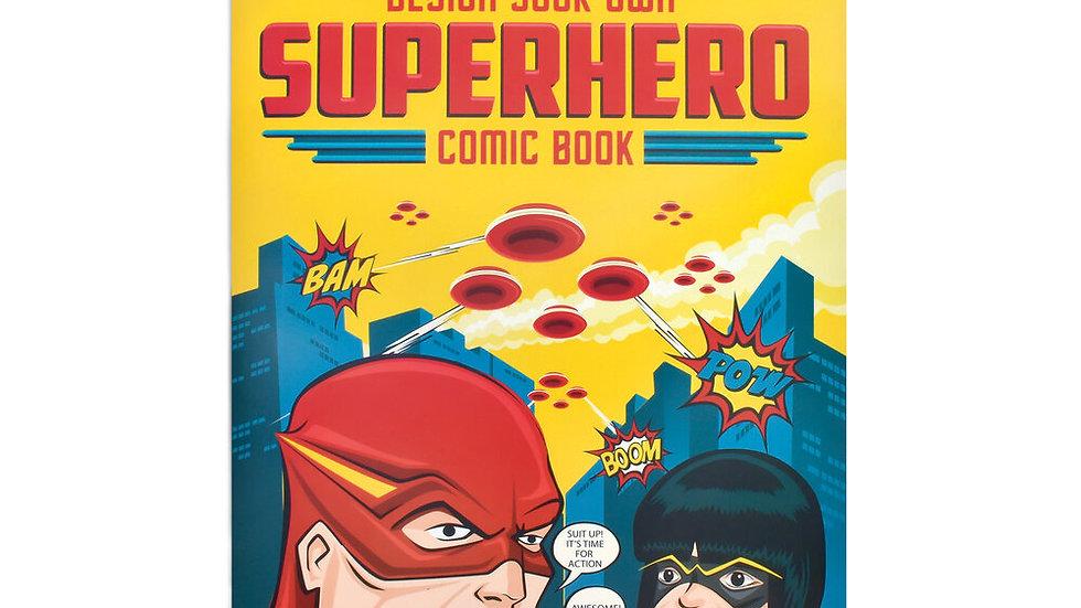 Design Your Own Superhero Comic Clockwork Soldier