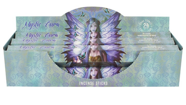 Anne Stokes Mystic Aura Incense Sticks Tube