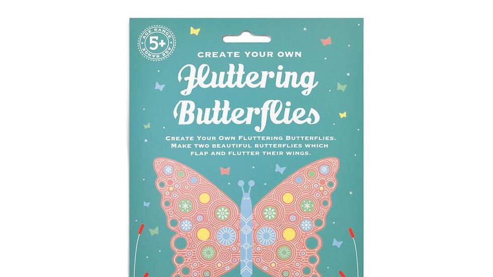 Create Your Own Fluttering Butterflies Clockwork Soldier