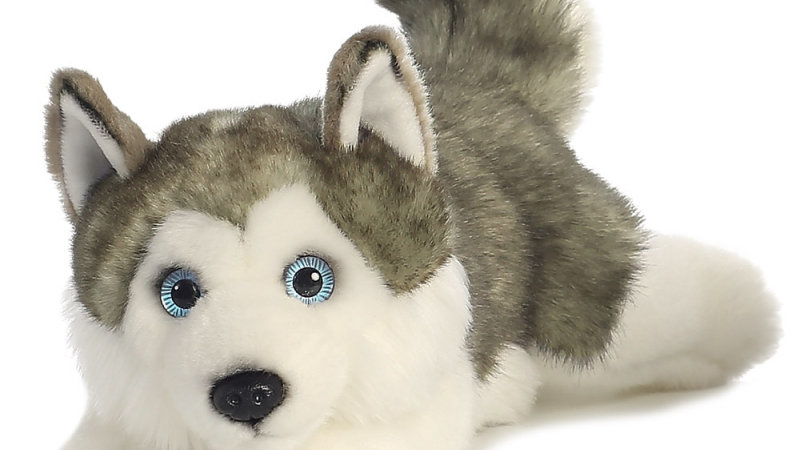 MiYoni Husky Lying 11in
