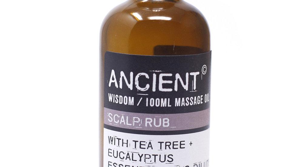 Scalp Rub Massage Oil + Bath Oil