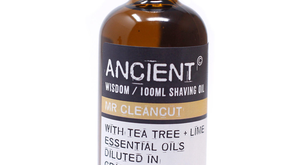 Mr Cleancut Shaving Oil + Beard Oil